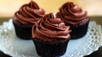 Cupcakes de doble chocolate