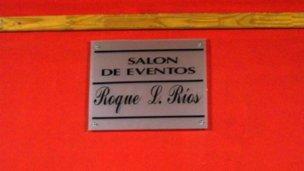 El salón de los municipales ahora tiene nombre