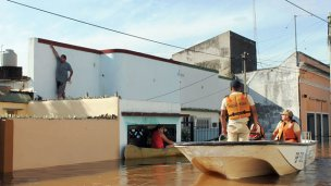 A casi un año de la inundación, relocalizaron a 31 familias