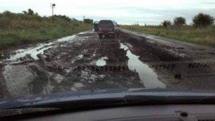 """Ruralistas piden por las rutas en """"mala situación"""""""