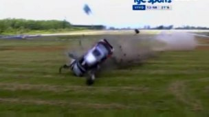 Tremendo accidente en la final de TC2000