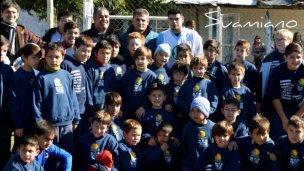 De la Libertadores a jugar en Yeruá