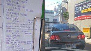 Cresto llenó el tanque de su auto particular a cuenta del Municipio