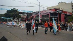 Mudaron el desfile del 9 de Julio