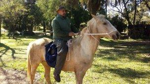 Robaron el caballo del Parque San Carlos