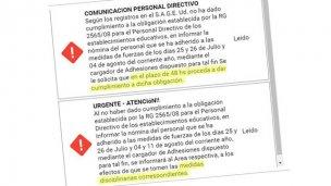 Rebelión: Directivo se niega a informar las inasistencias por paro