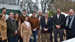 La Expo Rural de Concordia juntó a la dirigencia política
