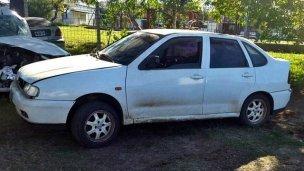 Cayó el concordiense que se llevó un auto de una concesionaria