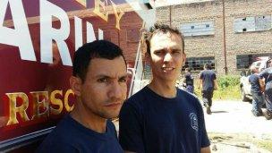 Estadounidenses capacitaron a bomberos