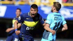 Con gol de Bou, Boca pudo ganarle a San Lorenzo