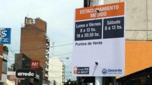 No habrá estacionamiento medido para turistas en Concordia