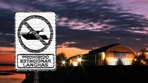 Galpones del puerto: Prohibido estacionar lanchas en el boliche