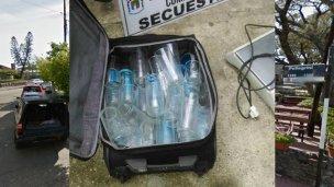 Robó cerveza y en el allanamiento descubrieron que vendía droga