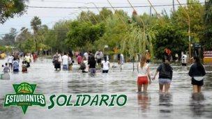 El verde juntará donaciones para los inundados