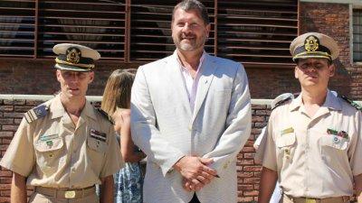 Viana, nuevo jefe en Prefectura Salto Grande