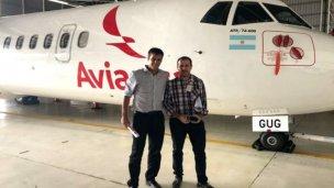 Cresto posó con Avianca buscando vuelos