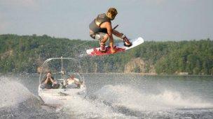 Concordia recibe a los competidores de Wakeboard