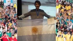 Entre estudiantes con sponsors, Tomás obtuvo medalla de plata