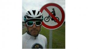 Camino al lago, ¿prohibido para ciclistas?