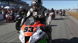 Las motos de pista probarán sus motores en Concordia
