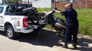 Recuperaron siete motos robadas en el finde largo
