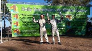 Navegante concordiense ganó rally en Monte Caseros