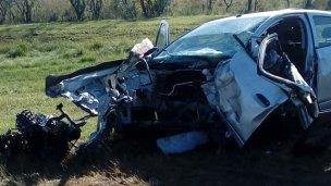 Falleció el conductor que chocó contra un camión cisterna