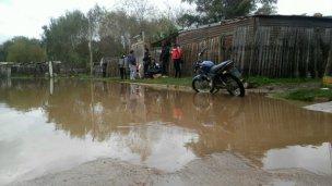 La Municipalidad demolió las casas inundadas