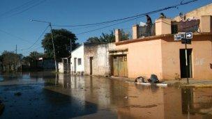 Los inundados podrían ser eximidos de impuestos