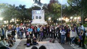 Junto a San Martín, se unieron al #NiUnaMenos