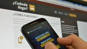 """""""Cuando llega"""", la nueva app para los colectivos de Concordia"""