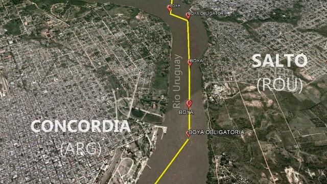 Resultado de imagen para Proyecto Binacional de Integración entre Concordia, Entre Ríos, y Salto, Uruguay