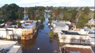 Buscan generar proyectos contra las inundaciones de Concordia
