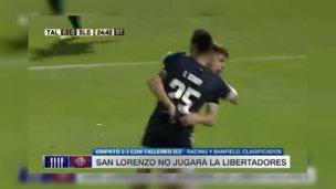 Un entrerriano dejó a otro sin Libertadores