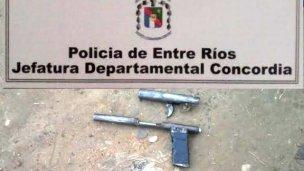 Lo encontraron armado en Agua Patito