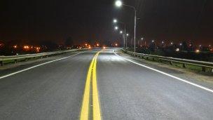 Tras las obras, así quedó la Avenida Frondizi