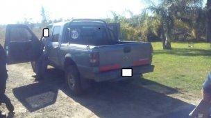 Lo robado estaba dentro de la camioneta de un empleado