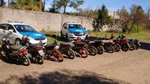 En tres días, 85 motos retenidas por falta de documentación