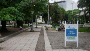 Detuvieron ocho menores de edad por enfrentamientos en la Plaza 25 de Mayo