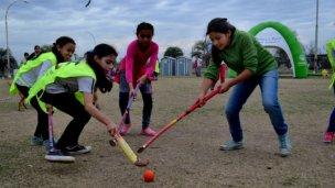 Los deportes del Programa Hábitat ya suman 200 chicos