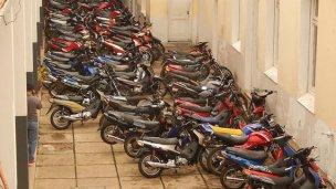 En dos semanas, casi 250 motos secuestradas