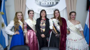 Paraná admiró a las reinas de las colectividades