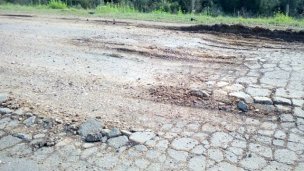 El camino a Puerto Yeruá
