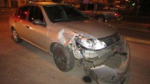 Un joven resultó herido tras ser atropellado por un auto