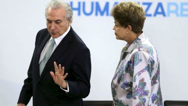 Themer sustituirá a Rousseff por 180 días