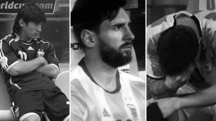 La soledad del campeón: 10 años de frustración para Messi