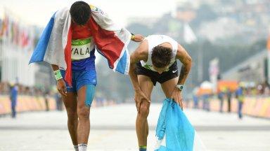 El paraguayo Ayala y Federico Bruno comparten la llegada en Río 2016