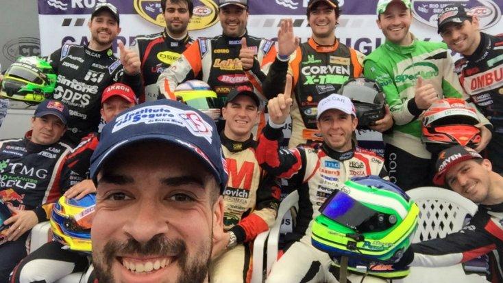 Martín Ponte y su selfie de Oro