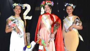 Agustina Sánchez, reina de la primavera en San José
