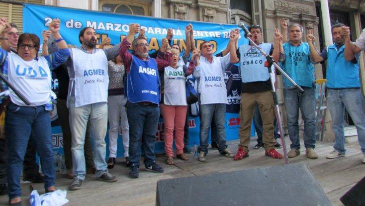 Paraná reunió a docentes de varias provincias